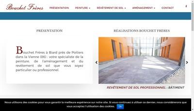Site internet de SARL Bouchet Freres