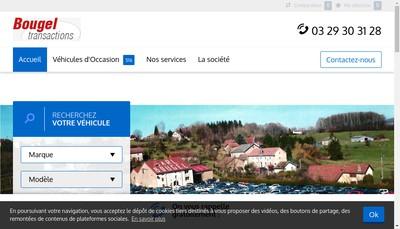 Site internet de Bougel Transactions