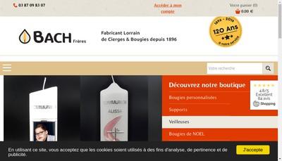 Site internet de Bach Freres