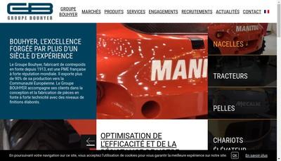 Site internet de Fonderie Gm Bouhyer