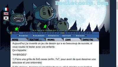Site internet de Boulet