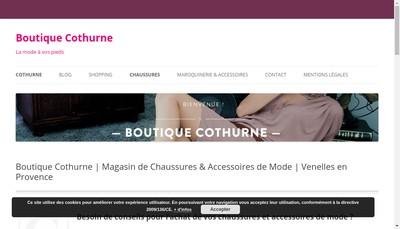 Site internet de Challenge Commerces