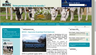 Site internet de Bovec