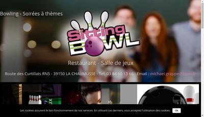 Site internet de Sitting Bowl