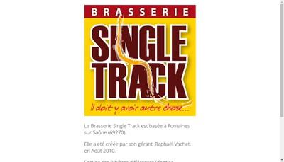 Site internet de Brasserie Single Track