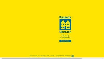 Site internet de Brasserie d'Uberach