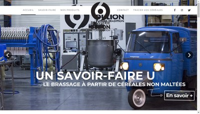 Site internet de Brasserie Dulion - Lyon