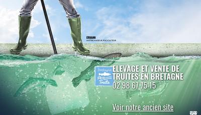 Site internet de Bretagne Truite