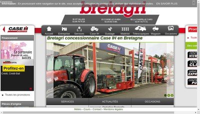 Site internet de Bretagri