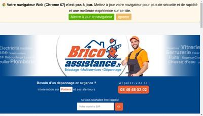 Site internet de Brico Assistance - Logis Color