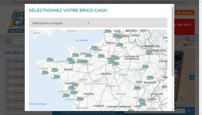 Site internet de Bricocash