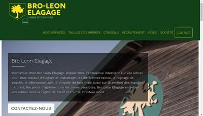 Site internet de Bro Leon
