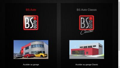 Site internet de Bs Auto