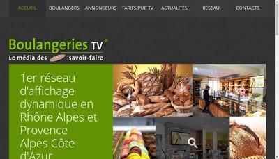 Site internet de Btv Media