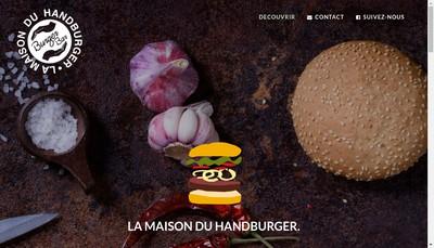 Site internet de Burger Bar
