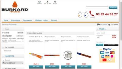 Site internet de Etablissements a Burkard et Compagnie