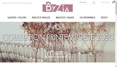 Site internet de By Zia