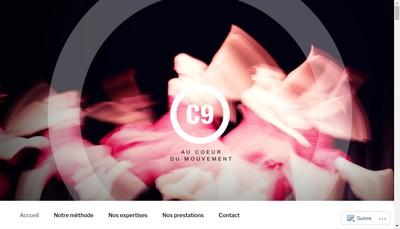 Site internet de C9 Consultants