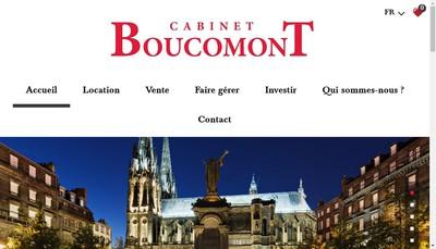 Site internet de Cabinet Boucomont