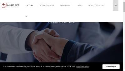 Site internet de Cabinet Fact