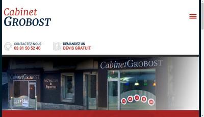 Site internet de Cabinet Francois Grobost