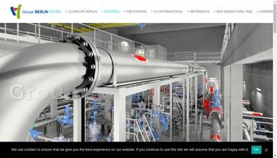 Site internet de Cabinet d'Etudes Marc Merlin