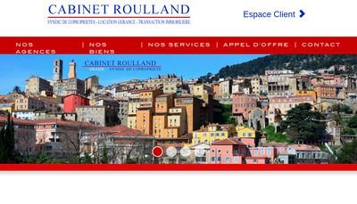 Site internet de Gestion Immo Daubeze Roulland