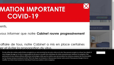 Site internet de Cabinet Charles Baumann