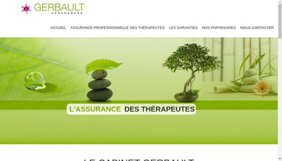 Site internet de Cabinet Gerbault