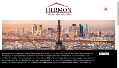 Site internet de Cabinet Hermon
