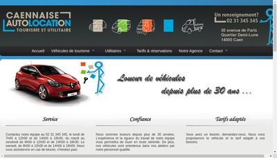 Site internet de L'Auto Caennaise