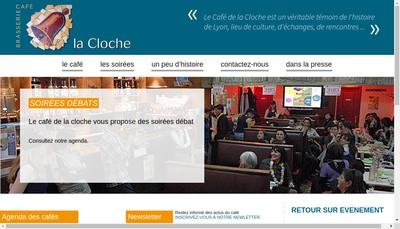 Site internet de La Cloche