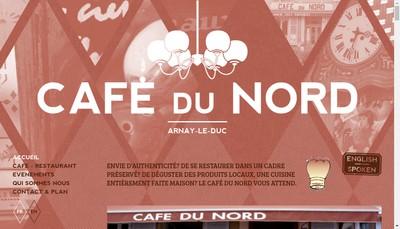 Site internet de Le Cafe du Nord