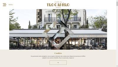 Site internet de Cafe du Trocadero