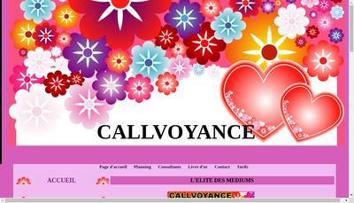 Site internet de Callvoyance