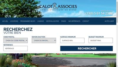 Site internet de Calot et Associes