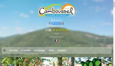 Site internet de Le Camboussel