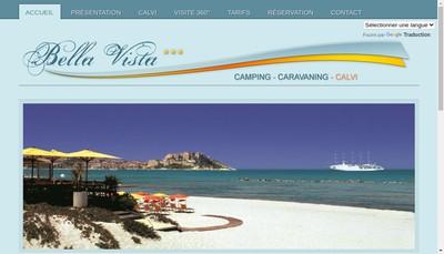 Site internet de Bella Vista