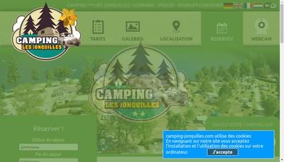 Site internet de Camping les Jonquilles