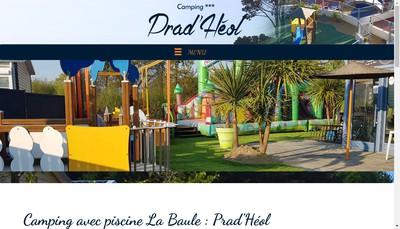 Site internet de Camping Prad Heol
