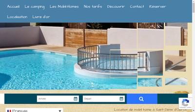 Site internet de Camping le Sabia
