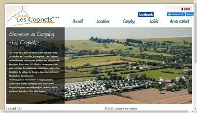 Site internet de Camping les Cognets
