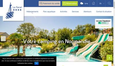 Site internet de Camping