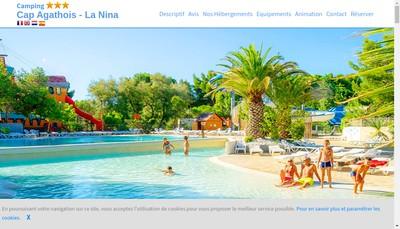 Site internet de Le Cap Agathois