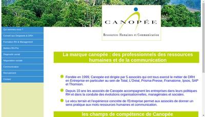 Site internet de Canopee