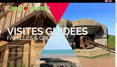 Site internet de Cap Normandy