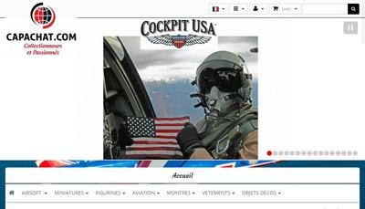 Site internet de Capachat Com