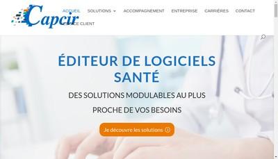 Site internet de Capcir SARL