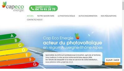 Site internet de Cap Eco Energie
