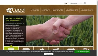 Site internet de Coop Agr Production-Elevage Quercynoise